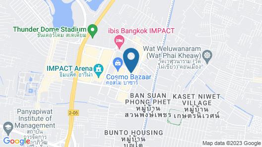 Muangthongthani Rental by Khun Dan Map