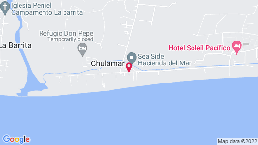 Hotel Soleil Pacifico Map