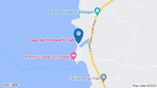 Lago de Oro Hotel & Wakepark Map