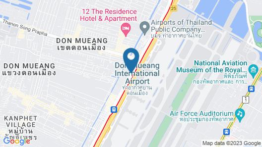 Amari Don Muang Airport Bangkok Map