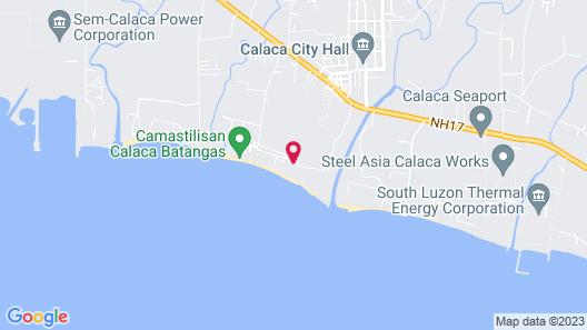 Filipina Beach Resort Map