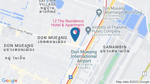 Moca Hotel Map