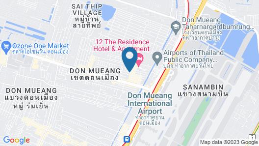 Don Muang Hotel Map