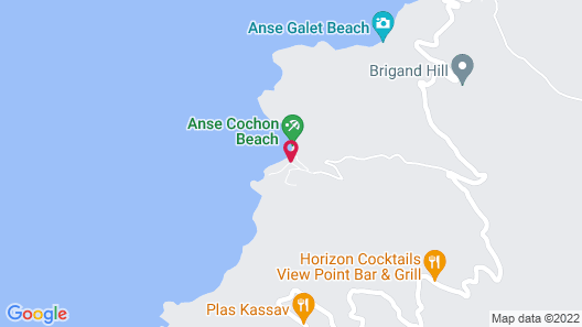 Ti Kaye Resort & Spa - Adults Only Map