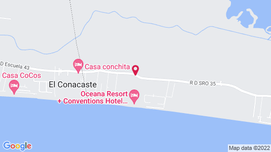 Oceana Resort & Conventions - All Inclusive Map