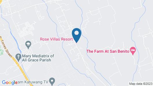 Rose Villas Resort Map