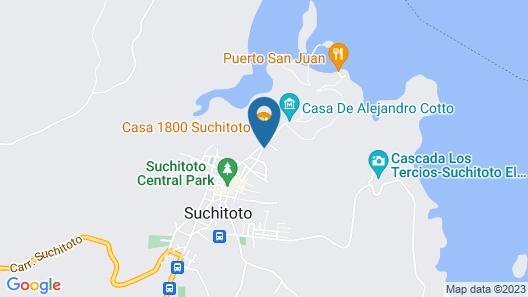 Hotel y Restaurante El Tejado Map