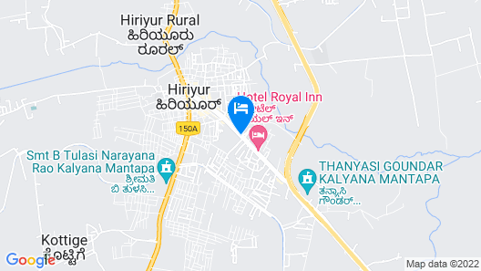 SPOT ON 45551 Surya Lodge Map