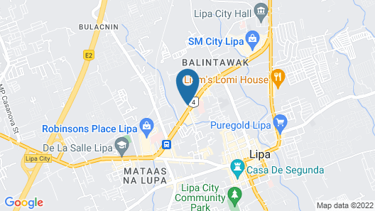 Hotel Cara Map