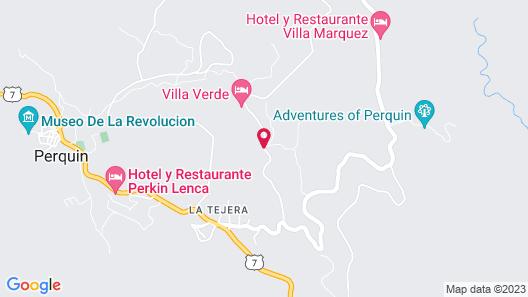 Cabaña con Vista a las Montañas Map