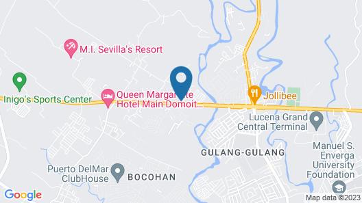 Quezon Premier Hotel Lucena Map