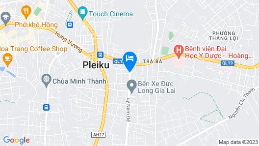 Bamboo Hotel Pleiku Map