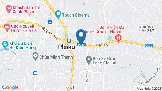 Khach San Mekong Gia Lai Map