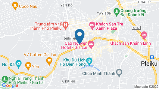 Duc Long Gia Lai Hotels & Apartment Map