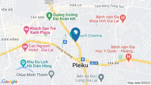 Khánh Linh Hotel Map