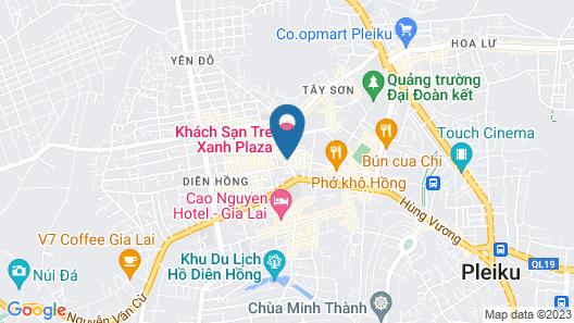 Le Centre Hotel Map