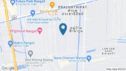 Bangkok Boutique Resort Rangsit Map
