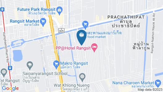 Matini Klong 1 Map
