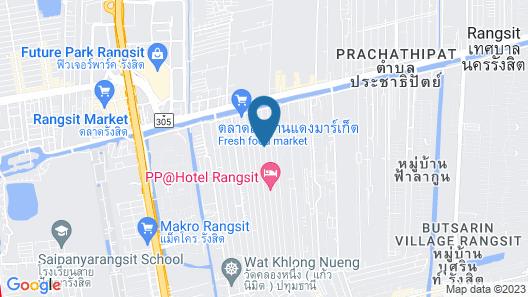 OYO 237 Thitikorn Grandview Map