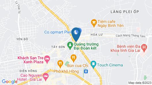 7S Hotel Pleiku Map