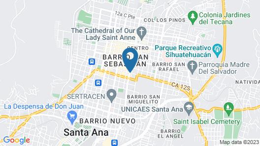 Hotel Remfort Map