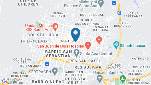 Plaza Antigua - Posada & Hostal Map