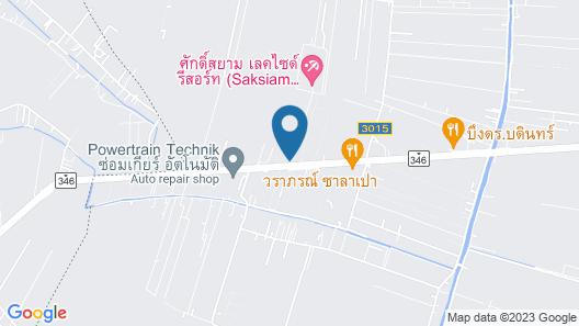 Saksiam Lakeside Resort Map