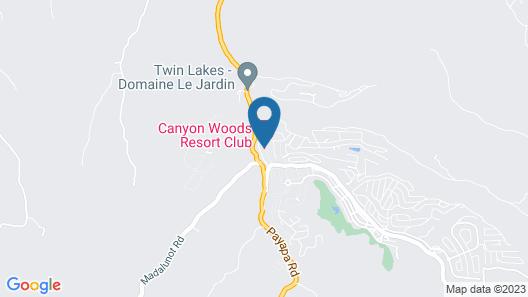 Canyon Woods Resort Club Map