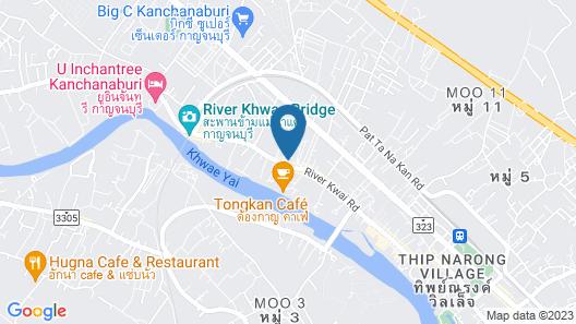 OYO 75364 River Kwai Road Residences Map