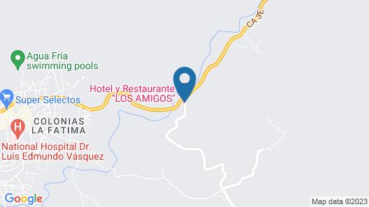 Hotel y Restaurante Los Amigos Map