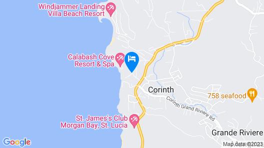 Calabash Condos and Villas Map