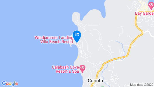 Luxury Private Oceanview Villa With Infinity Pool Map