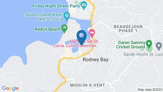 Villa Caprí Map