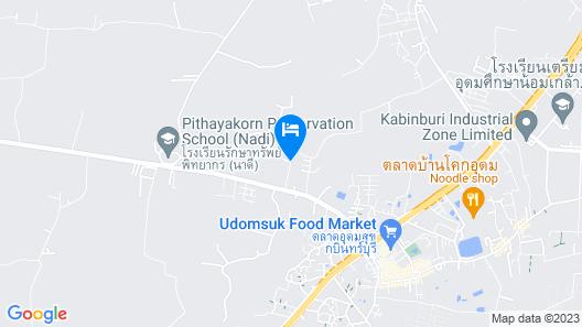 Nadeetawee Resort Map
