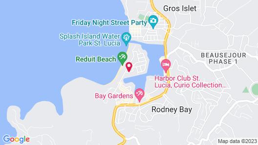 Harmony Marina Suites Map