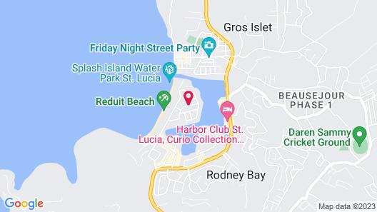 Xhale Luxury Villa Map