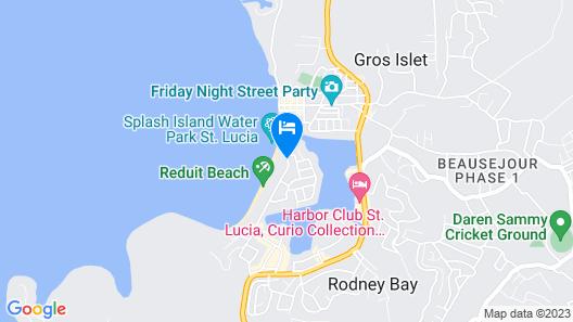 Bay Gardens Beach Resort Map