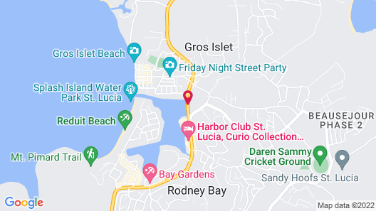 Bay Gardens Marina Haven (All-inclusive Optional) Map