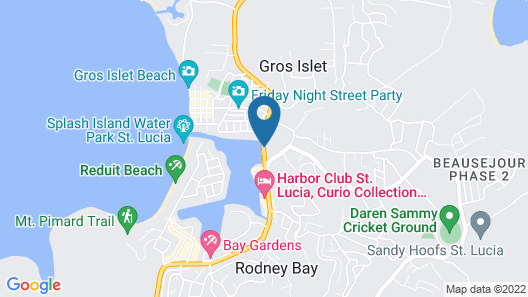 Bay Gardens Marina Haven Map