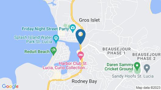 Bay Gardens Marina Haven Map