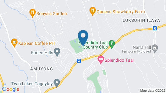 Royale Tagaytay Bed and Breakfast Map