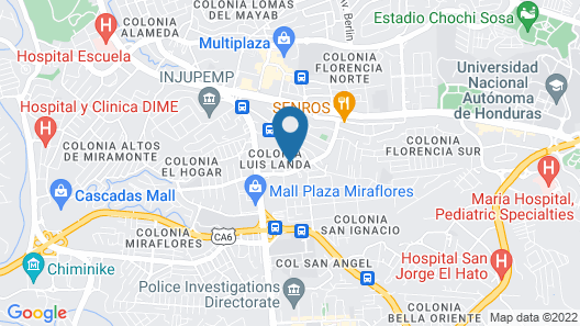 Hotel Villa Marina B&B Map