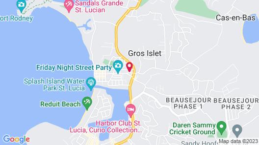 Hotel Chez Marie Alish Map