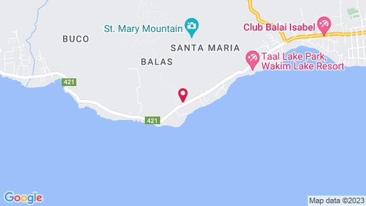 Club Balai Isabel Map