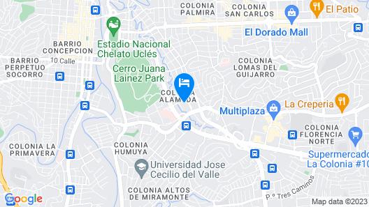 Maxim Habitaciones Map