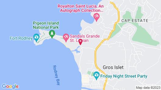Eaton Residence Map