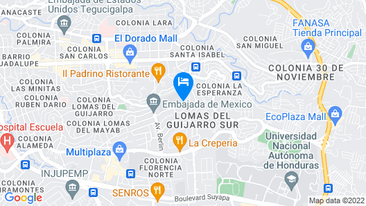 Aparthotel Guijarros Map