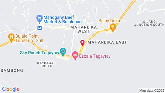 Summit Ridge Tagaytay Map