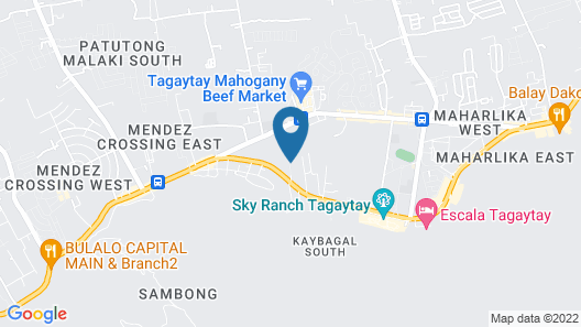 Bali Village Hotel Map