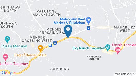 The Lake Hotel Tagaytay Map